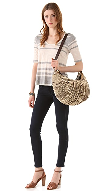 Diane von Furstenberg Stephanie Medium Hobo