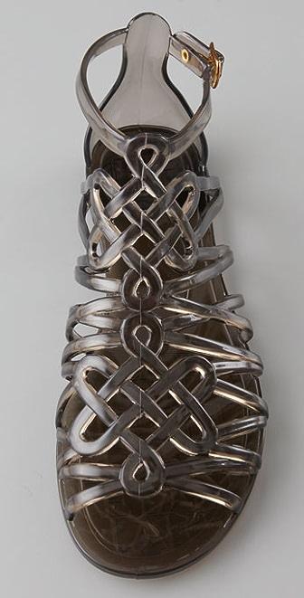 26354042befd Diane von Furstenberg Jaya Love Knot Jelly Sandals