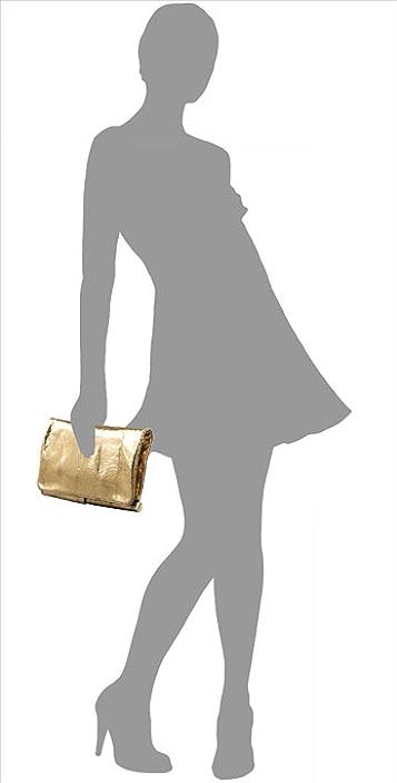 Diane von Furstenberg Bonnie Fold Over Clutch