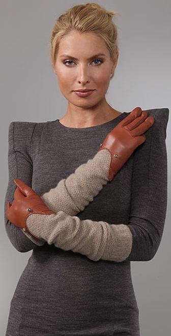 Diane von Furstenberg Victoria Long Gloves