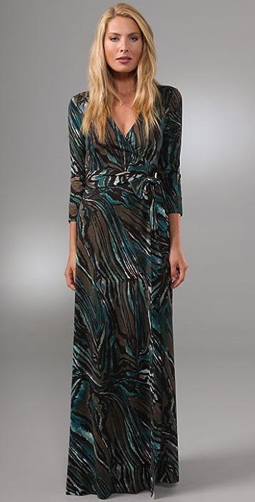 Diane von Furstenberg Julian Wrap Gown