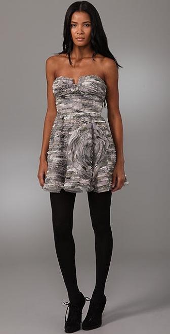 Diane von Furstenberg Delancey Strapless Dress