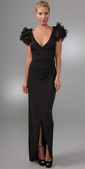 Diane von Furstenberg Beulah Wrap Gown