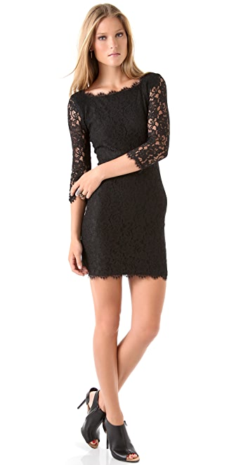 Diane von Furstenberg Lace Zarita Dress
