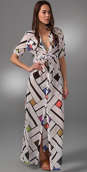 Diane von Furstenberg Azurah Cover Up Dress