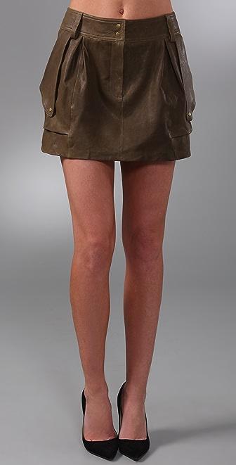 Diane von Furstenberg Jodhpur Cargo Miniskirt