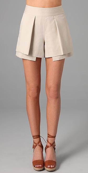 Diane von Furstenberg Foldee Shorts