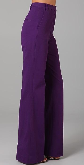 Diane von Furstenberg Simca Straight Flare Pants