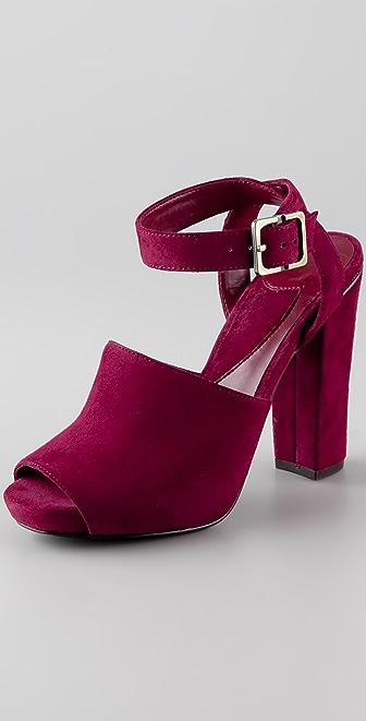 Diane von Furstenberg Rebel High Heel Sandals