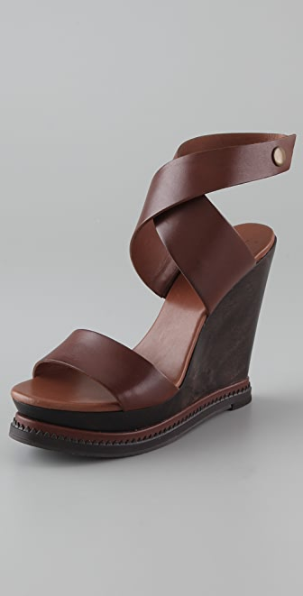 Diane von Furstenberg Omni Wedge Sandals