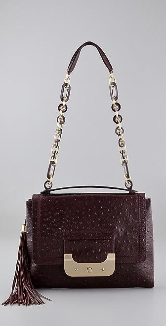 Diane von Furstenberg Harper Ostrich Day Bag