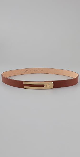 Diane von Furstenberg Ava Nappa Leather Belt
