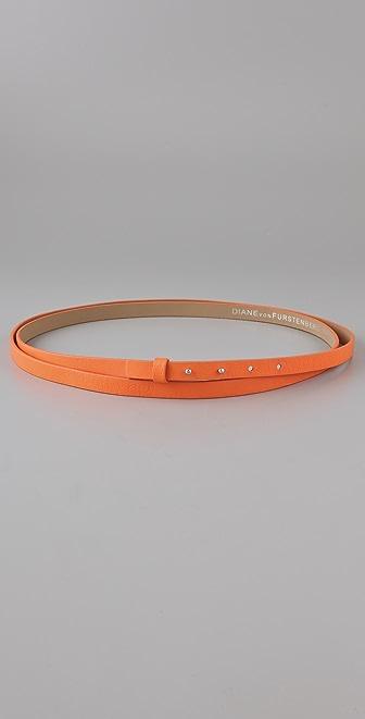 Diane von Furstenberg Haley Double Wrap Belt