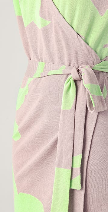 Diane von Furstenberg Kinaya Wrap Dress