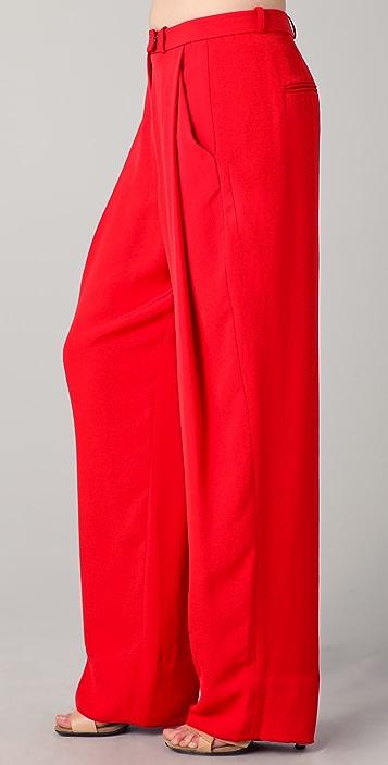Diane von Furstenberg Athos Wide Leg Pants