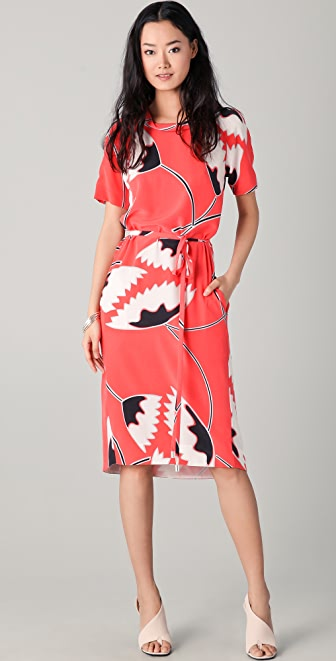 Diane von Furstenberg Lynette Midi Dress