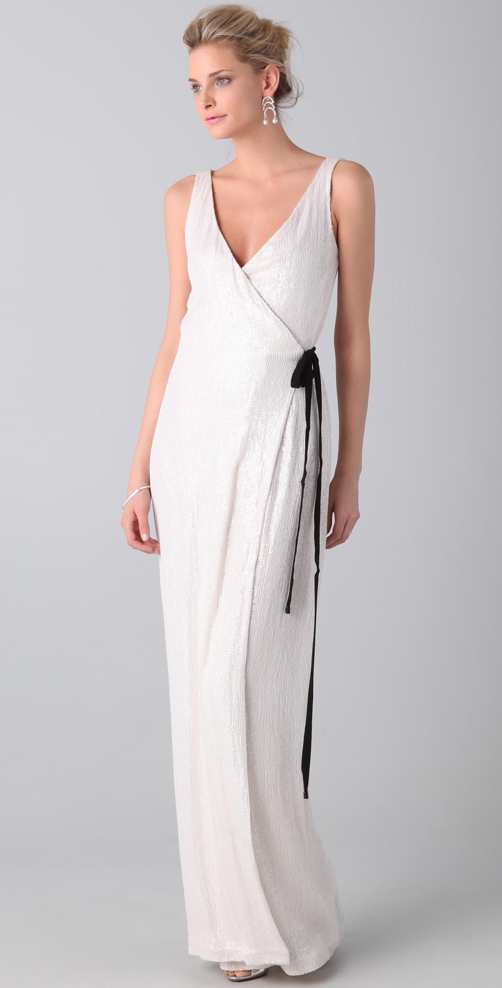 Diane von Furstenberg Yazhi Sequined Gown | SHOPBOP
