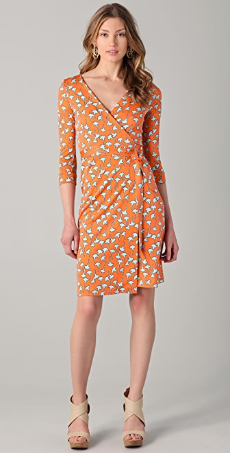 Diane von Furstenberg New Julian Wrap Dress | SHOPBOP