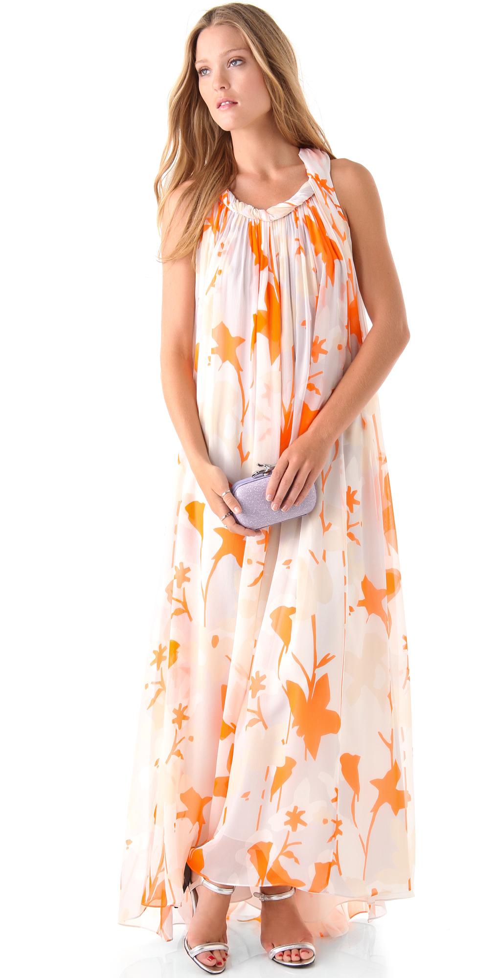 Diane von Furstenberg Mirina Maxi Dress  SHOPBOP