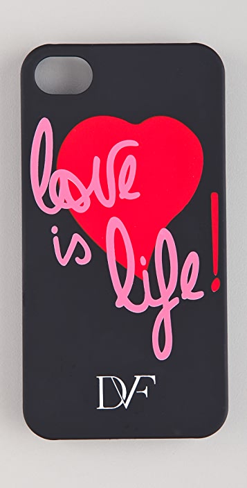 Diane von Furstenberg Love Is Life iPhone Case