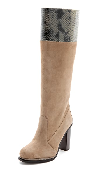 Diane von Furstenberg Shelly High Heel Boots