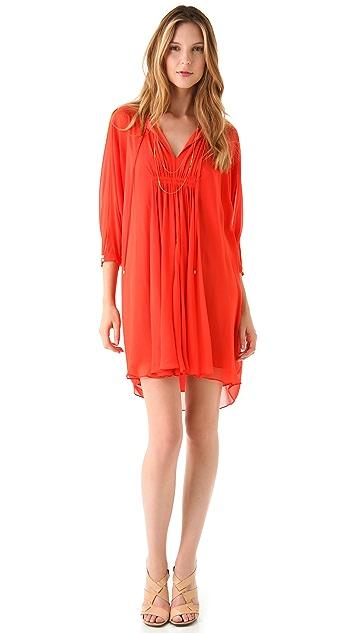 Diane von Furstenberg New Fleurette Solid Dress