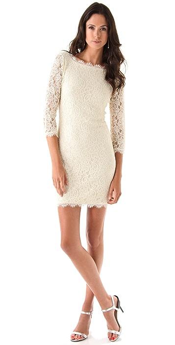 Diane von Furstenberg New Zarita Lace Dress
