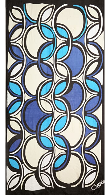 Diane von Furstenberg Whisper Silk Scarf