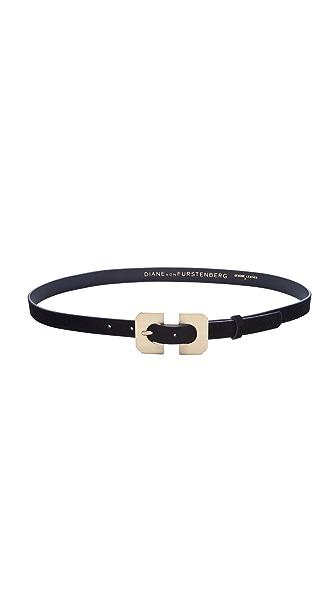 Diane von Furstenberg Chain Link Buckle Belt