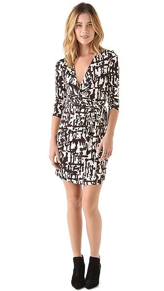 Diane von Furstenberg Callista Long Sleeve Dress