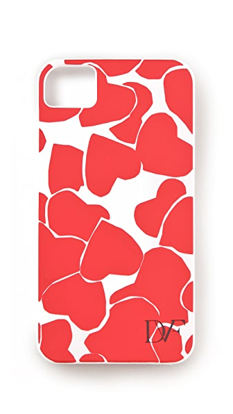 Diane von Furstenberg Hearts iPhone Case