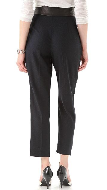 Diane von Furstenberg Ellis Flannel Pants