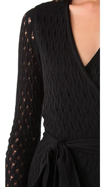 Diane von Furstenberg Richley Ladder Lace Dress