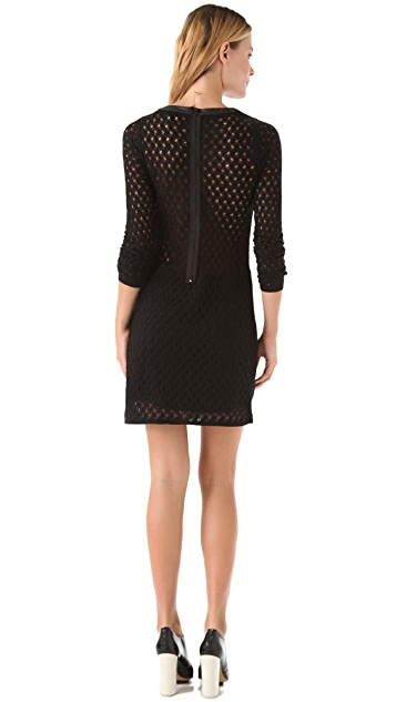 Diane von Furstenberg Kivel Ladder Lace Dress