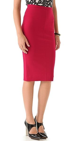 Diane von Furstenberg Samara Jersey Pencil Skirt