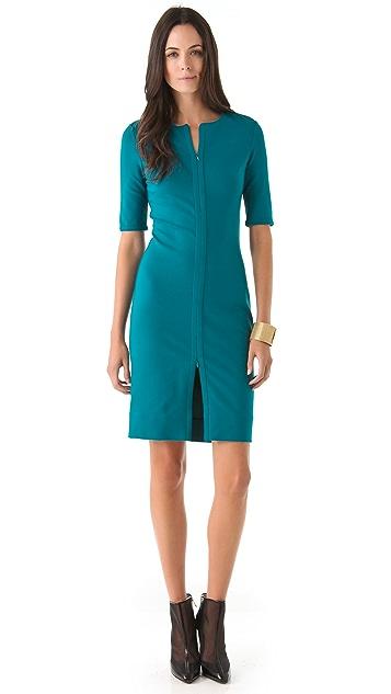 Diane von Furstenberg Saturn Zipper Dress