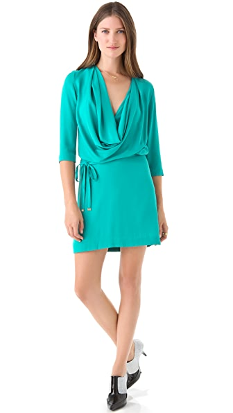 Diane von Furstenberg Rachel Cowl Neck Dress