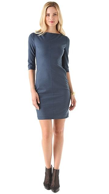 Diane von Furstenberg Thandi 3/4 Sleeve Dress