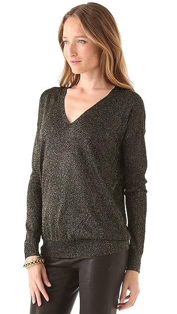 Diane von Furstenberg Ania-Bis V Neck Sweater