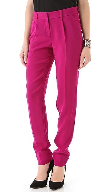 Diane von Furstenberg Jacques Cady Crepe Pants