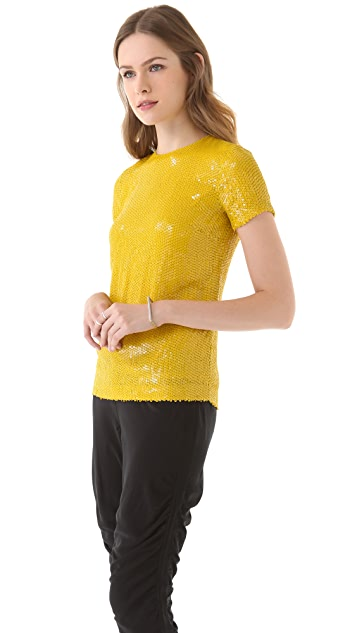 Diane von Furstenberg Catalina Couture Sequin Tee