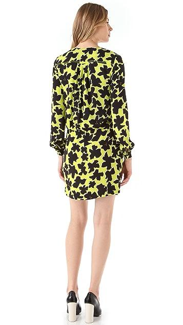 Diane von Furstenberg Dora Print Wrap Dress