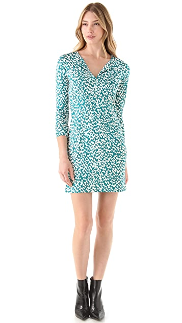 Diane von Furstenberg Long Sleeve Reina Dress