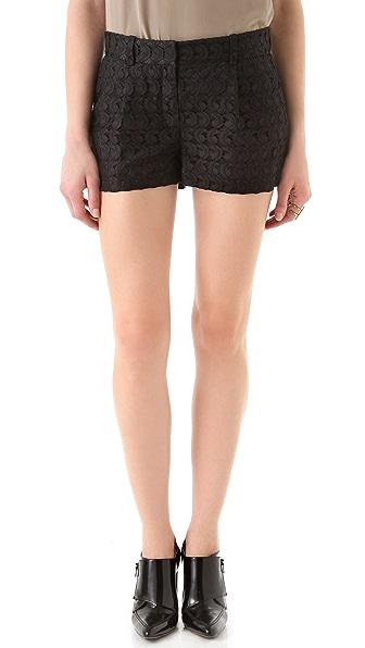 Diane von Furstenberg Naples Short Paisley Lace