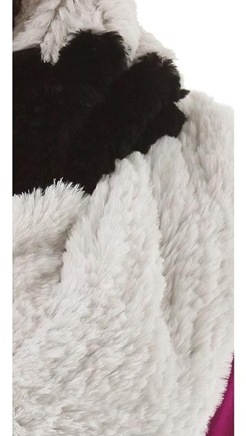Diane von Furstenberg New Grosvenor Fur Scarf