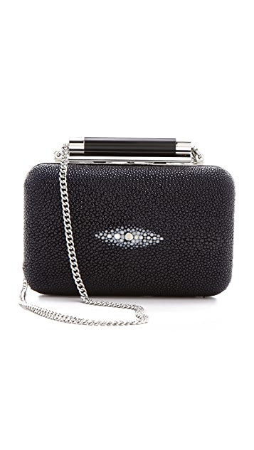 Diane von Furstenberg Tonda Small Stingray Clutch