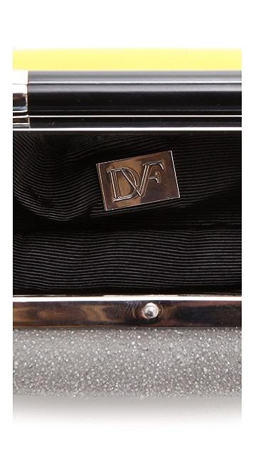 Diane von Furstenberg Tonda Small Stardust Clutch