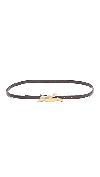 Diane von Furstenberg Twig Skinny Belt