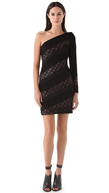 Diane von Furstenberg Noemi Satin Crepe Dress