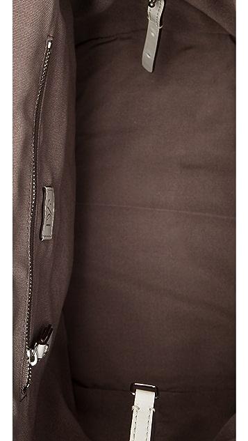 Diane von Furstenberg 440 Top Handle Embossed Croc Bag